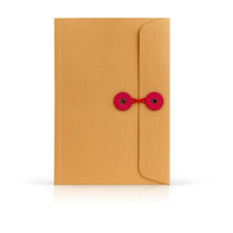 Libreta Tamaño Francés Con Diseño De Folder Amarillo Nueva