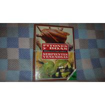 Libro Pitones Y Boas Serpientes Venenosas Biblioteca Animal