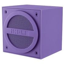 Ihome Bluetooth Recargable Mini Altavoz Cube - Purple