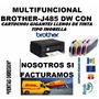 Multifuncional Brother J485 Cartuchos Gigantes Gratis Barata