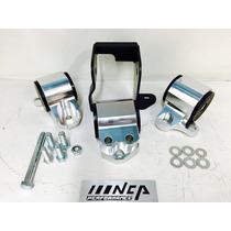 Soportes Rígidos Aluminio Uretano Honda Civic 92-95 Jdm Nca