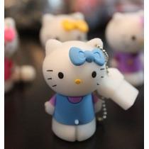 Usb 8gb Figura Hello Kitty 01 Blue