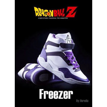 Tenis De Freezer Dragon Ball Z Originales Con Licencia Toei