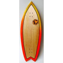 Surf Skate Longboard Downhill Crucero Surfing Urbano Fish