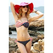 Traje De Baño Bikini Estados Unidos
