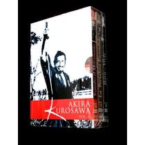 Akira Kurosawa Vol 2 Fortaleza Escondida Yojimbo Ikiru Vivir