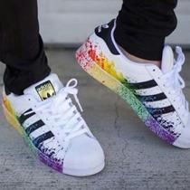 Adidas Superstar Lgbt Dama Cabllero