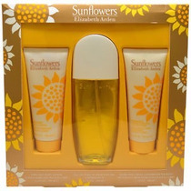 Perfume Original Set Elizabeth Arden New York Sunflowers