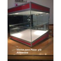 Vitrina Comercial Para Pizza Y/o Alimentos 50x50x50