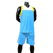 Uniforme Basketball Azul-blanco Short/calcetas Galgo