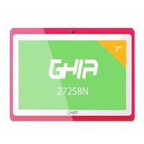 Tablet Ghia Any Quattro 7 Quad Core47458 Tenda Color Rosa