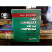 Las Finanzas De La Empresa Joaquín Moreno Fernández Libro