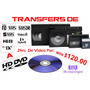 Digitalización Hd Cintas Beta, Vhs, 8mm, Minidv A Disco Dvd