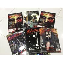 Lote De 6 Revistas Nueva Gotica 69 Eyes Lacrimosa Tiamat