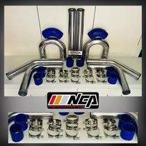 Kit De Tuberia De Aluminio Para Turbo Con Envio Gratis Nca