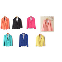 Blazer Saco Slim Fit ¡¡¡7 Colores A Escoger!!!