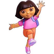 Dora La Exploradora Lampara Para Pared 3d Nueva