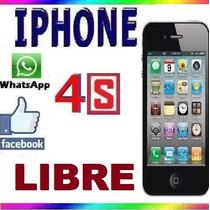 Celular Iphone 4s 8gb Original + Regalos (la Mejor Opción)