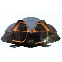 Casa De Acampar Gigante Para 10 Personas 3 Habitaciones