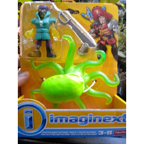 Juguetiness Imaginext Pirata Y Pulpo Fantasma Fisher Price