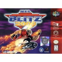 Juego Nintendo 64 Nfl Blitz 2000 Cartucho Casette
