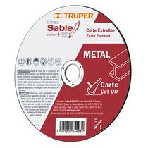 Disco Abrasivo Corte Extra Fino De Metal 1 Mm Truper 12545