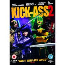 Dvd Kick Ass Segunda Parte 2 Con Jim Carrey Tampico Madero