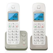 Alcatel E190 Voice Dúo Gris Teléfono Inalámbrico