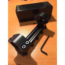 Monobase Para Mira Telescopica 5 Tornillos 1 -rifle De Aire