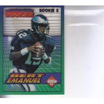1994 Edge Boss Rookies Bert Emanuel Wr Falcons