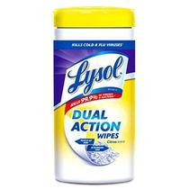 Lysol Doble Acción Toallitas Desinfectantes Citrus 35 Conde