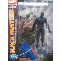Figura Black Panther Marvel Select Disney Pantera Negra