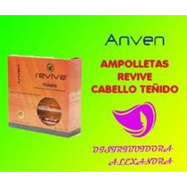 Ampolleta Cabello Procesado Anven Revive 20ml C/10pz