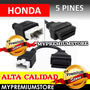 Adaptador Honda De 5 A 16 Pin Obd2 Para Escaner Automotriz