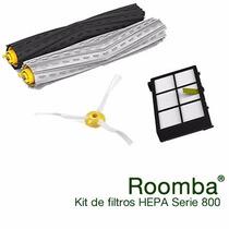 Kit De Filtros Y Cepillos Irobot Roomba Serie 800