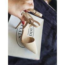 Zapatos Color Nude Steve Madden. Nuevos 5.5 Mex, 8.5 Usa