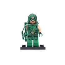 Minifigura Para Armar Flecha Verde Green Arrow