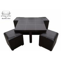Mesa Centro Lounge Minimalista Original Domus Dei Mueblesvv4