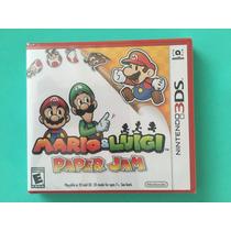 Mario Y Luigi Paper Jam 3ds Nuevo Sellado
