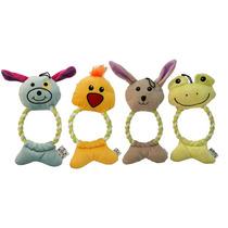 Toy Dog - Ring Cuerda Cachorro James & Steel Actividad Jugan