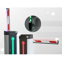 Brazo Recto De 4 Metros/compatible Con Barrera Led Izquierda