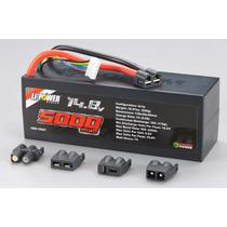 Venom Bateria Lipo 4s 14.8v 5000mah 35c Conector Universal