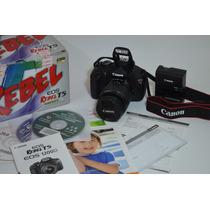 Canon T5 18 Mpx Con Lente Ef-s 18-55mm Full Hd Seminueva