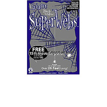 Decoración De Halloween - Grande Extra Web Negro Araña Viuda