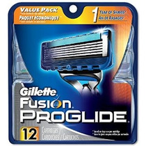 Gillette Fusion Proglide Recargas De Afeitar Paquete De 12