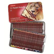 Colores Derwent Pastel Pencil Estuche Con 72 Piezas