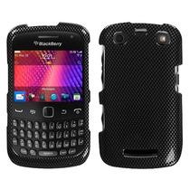 Funda Protectora Blackberry Curve 3 9360 Negro Carbon