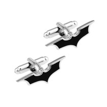 Mancuernillas Batman Dc Comics Hombre Murcielago Logo Acero