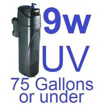 Filtro Esterilizador Ultravioleta Uv 9 Watts Sumergible
