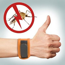 Repelente De Mosquitos Pulsera Con 2 Paquete Deet Gratuito R